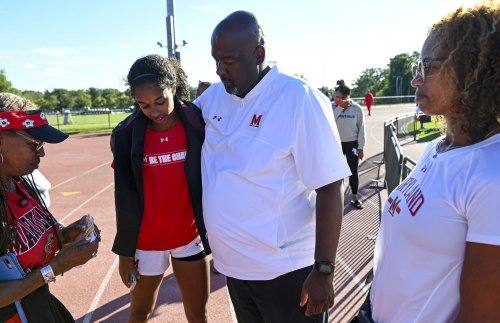 Michael Locksley got to be a soccer dad again when his daughter transferred to Maryland