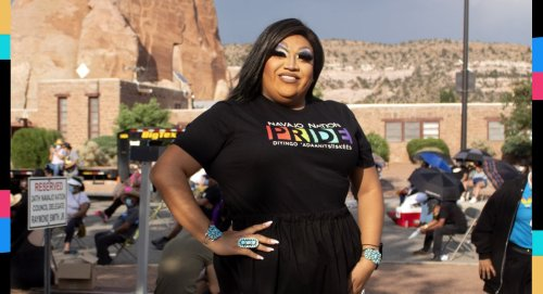 Navajo Nation celebrates its first official Pride parade after a devastating year
