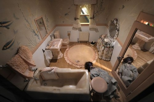 At a new Renwick show, dollhouses become scenes out of 'CSI,' modeling real-life murders