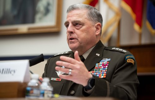 Top U.S. military leader: 'I want to understand White rage. And I'm White.'