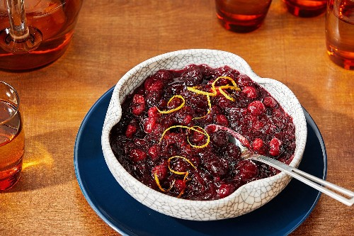 Thanksgiving sides recipes for cranberry sauce, green beans, corn and a whole lot more