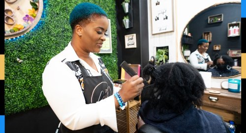 This stylist went viral for helping women with matted pandemic hair: 'I'm detangling their lives'