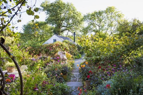 A garden design expert's new book offers a peek at some of Europe's finest outdoor spaces