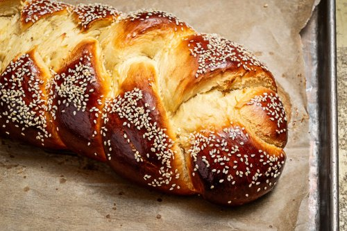 This luscious challah relies on egg yolks, honey and fruit juice for tenderness and flavor