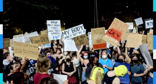 A rape allegation, hundreds of protesters: This is the scene unfolding at a University of Kansas fraternity