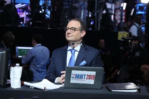 ESPN suspends Adrian Wojnarowski, its star NBA reporter, after profane email to senator