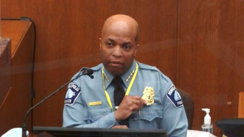 Derek Chauvin trial: Minneapolis police chief says officer 'absolutely' violated policy while restraining Floyd