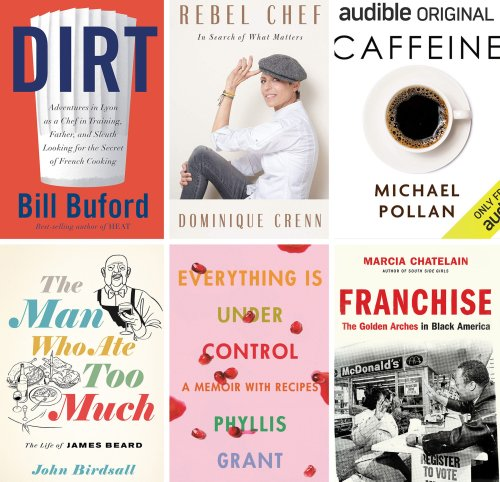 The best food books of 2020 that will get you thinking, not cooking
