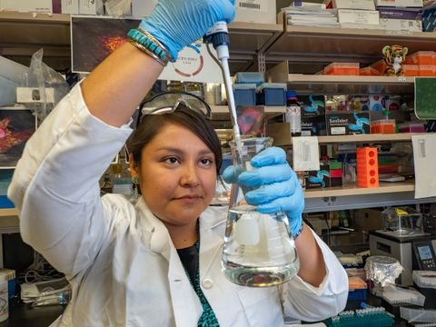 Navajo geneticist Rene Begay weighs her community's participation in NIH's All of Us DNA collection program - The Washington Post