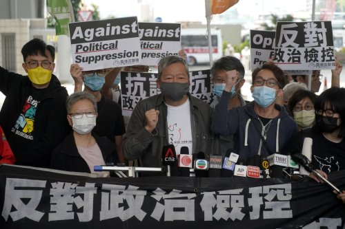 Hong Kong sentences democracy activists to prison over peaceful protest