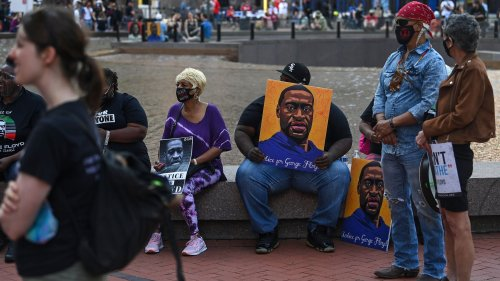 George Floyd's family gathers in Minneapolis to mark first anniversary of his death