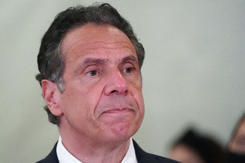 Andrew Cuomo is plummeting, and there's no one left to catch him