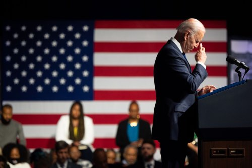 Biden embraces symbolism, but substance on some issues proves more difficult