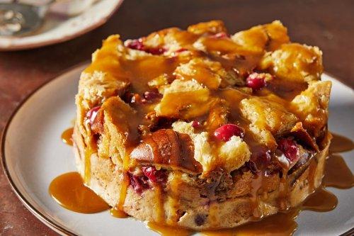 Instant Pot Cranberry Bourbon Bread Pudding - The Washington Post