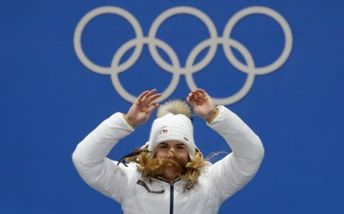 The Olympics have waited 114 years for Ester Ledecka, the snowboarder who won a skiing gold medal