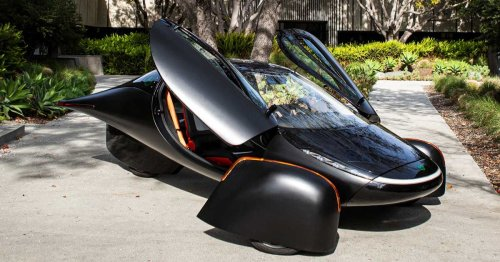 It looks like the Batmobile, works on solar energy, and could be the future of cars