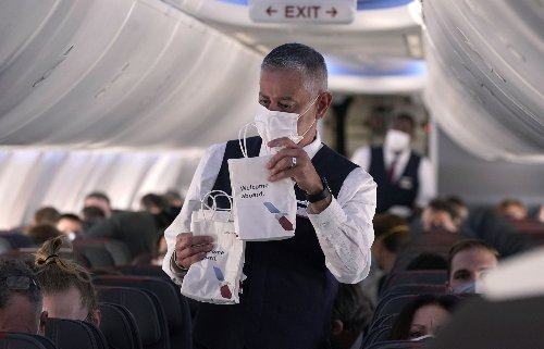 Sneezed on, cussed at, ignored: Airline workers battle mask resistance with scant government backup