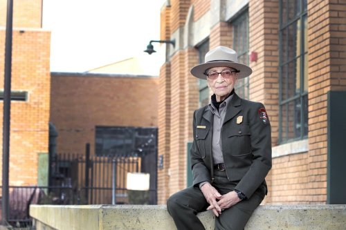 She became a park ranger at 85 to tell her story of segregation. Now 100, she's the oldest active ranger.