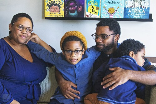 Their son wanted to see more Black book characters, so they created a business to provide them