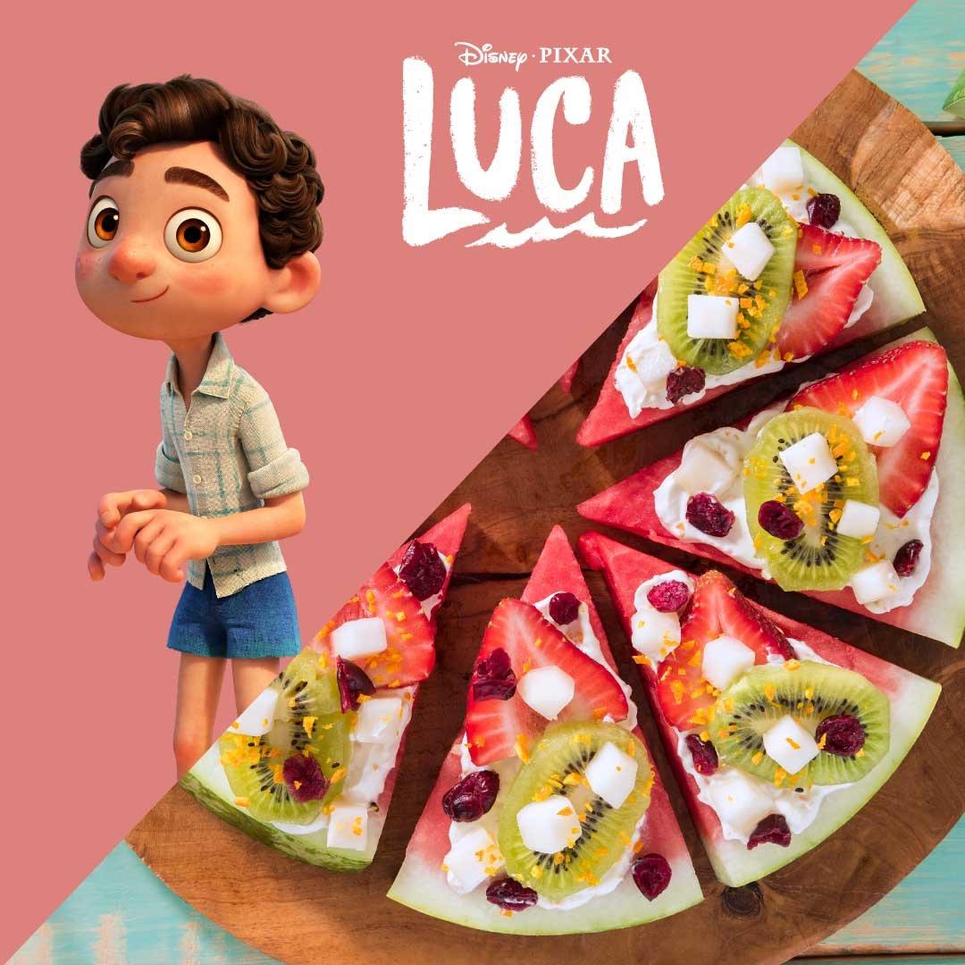 Watermelon Pizza alla Italia - Watermelon Board
