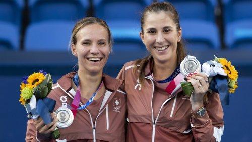 Olympia 2020: Silber für Bencic/Golubic – im Final waren die Gegnerinnen schlicht zu gut