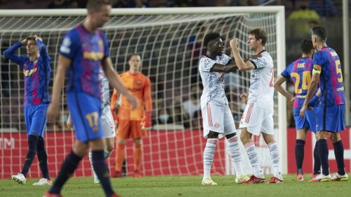Champions League: Bayern München gewinnt in Barcelona mühelos