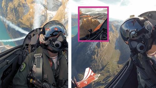 Spektakulär: Die Patrouille Suisse nimmt uns mit in ihre Cockpits