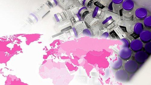 So steht es im weltweiten Impffortschritt – das Wichtigste in 4 Punkten