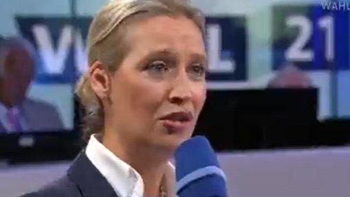 ARD-Moderator stellt AfD-Weidel komplett in den Senkel
