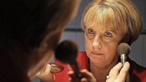 Auch Angela Merkels Doppelgängerin muss in den Ruhestand