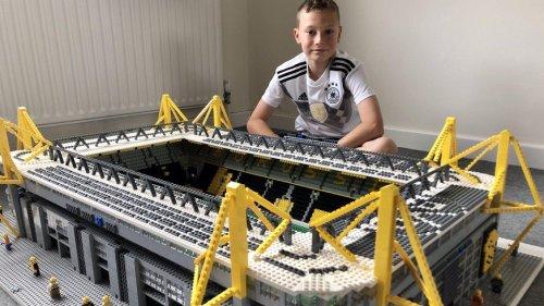 13-jähriger Engländer baut alle Bundesliga-Stadien aus Lego – mit viel Liebe zum Detail