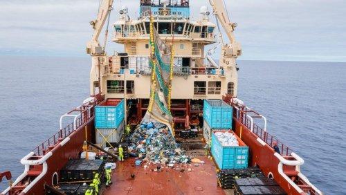 «Ein Erfolg für die Menschheit»: 29 Tonnen Plastikmüll aus dem Pazifik gefischt