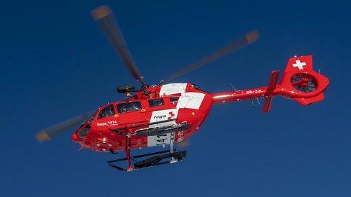 Unbekanntes Flugzeug und Rega-Helikopter kommen sich gefährlich nah