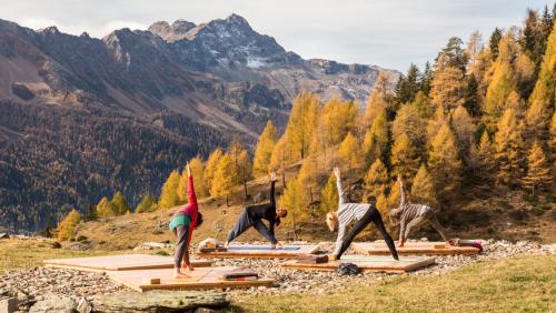 Einmal tief durchatmen! Das sind die schönsten Yoga- und Meditationsorte der Schweiz