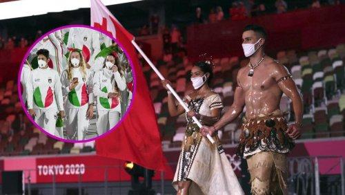 Halbnackte Fahnenträger und Italiens Mode-Fehlgriff – das lief an der Eröffnungsfeier