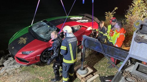 Lamborghini im Mondsee versenkt – Schweizer verwechselt Gas und Bremse