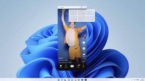 Microsofts überrascht alle und bringt Windows 11 mit Android-Apps