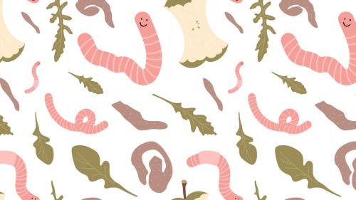 Kompostieren ohne Garten? Meine 500 Regenwürmer erklären dir, wie das geht