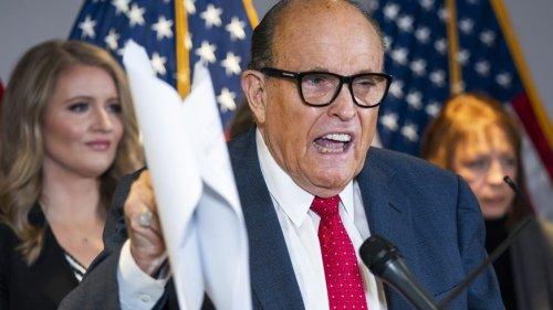 Lizenz von Trump-Anwalt Giuliani wegen Wahl-Lügen ausgesetzt