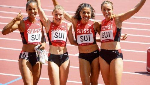 Sprint-Staffel mit Schweizer Rekord in den Final: «Wir dürfen von einer Medaille träumen»