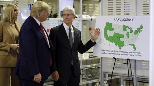 Trump zwang Apple, heimlich die Daten von mindestens zwei Demokraten preiszugeben