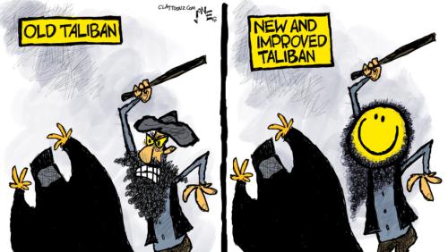 29 brutal ehrliche Karikaturen, die uns das Desaster in Afghanistan vor Augen führen