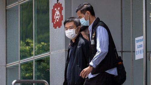 Chefs von pro-demokratischer Zeitung in Hongkong festgenommen