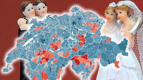 Ehe für alle: Die Gemeinde mit dem tiefsten Ja-Anteil und was sonst noch aufgefallen ist