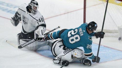 Timo Meier feiert wichtigen Sieg mit den Sharks – Sabres kassieren 15. Pleite in Folge