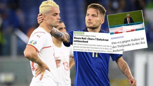 «Billetautomat für Italiens Achtelfinal-Ticket» – die Reaktionen auf das 0:3 der Schweizer