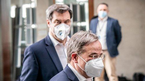 Gespräch ohne Einigung beendet: Söder und Laschet bleiben stur