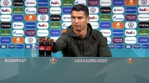Ronaldo verschmäht Coca-Cola: Jetzt meldet sich die UEFA zu Wort