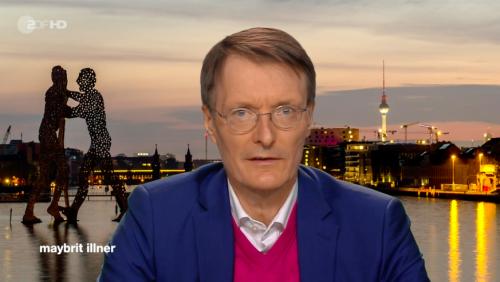 """""""Maybrit Illner"""": Lauterbach warnt vor Tragödie und versteht Debatte um Notbremse nicht"""