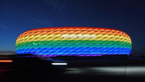 EM-News: Immer Stadien kündigen Regenbogen-Beleuchtung an – Söder bedauert UEFA-Entscheidung